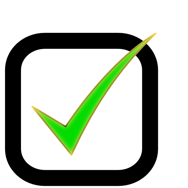 checkbox checked clip art at clker com vector clip art free clip art check mark yes free clip art check mark yes