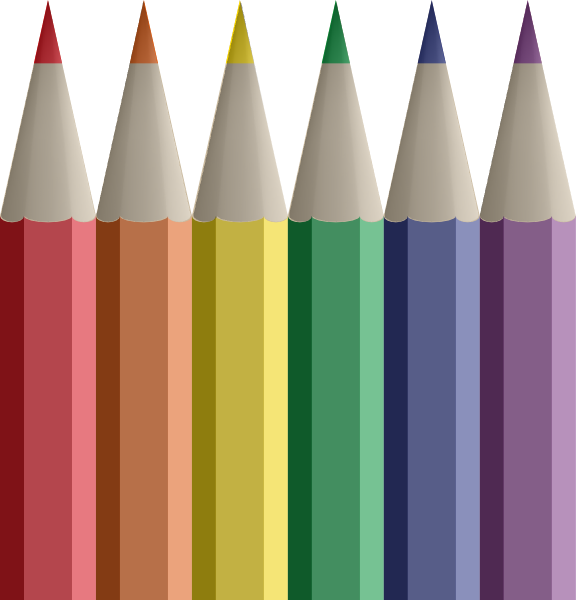 Colored Pencils Clip Art at Clker.com - vector clip art ...