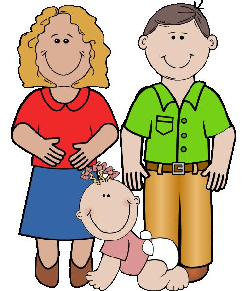 smiling family clip art at clker com vector clip art online rh clker com clipart of a family praying together clipart of a family in prayer
