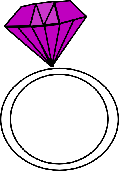 Diamond Ring ashraf Clip Art at Clker vector clip art online