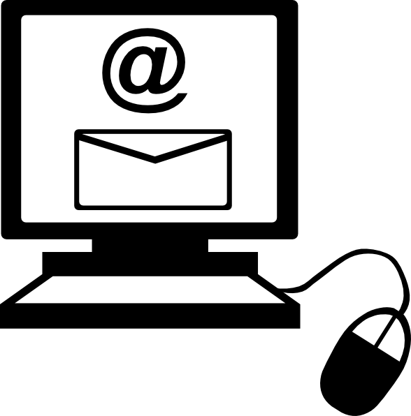 email on computer clip art at clker com vector clip art letter d clipart letter d clip art on fire